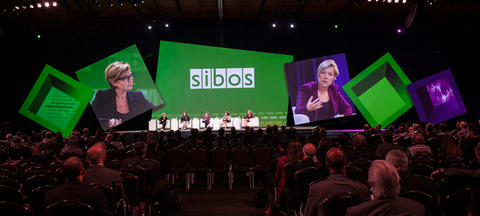 Keynote speakers at Sibos!