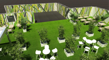 Take time out in the Sibos Garden